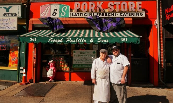 This Old School Italian Shop in Brooklyn is Run By The Best Father and Son Duo