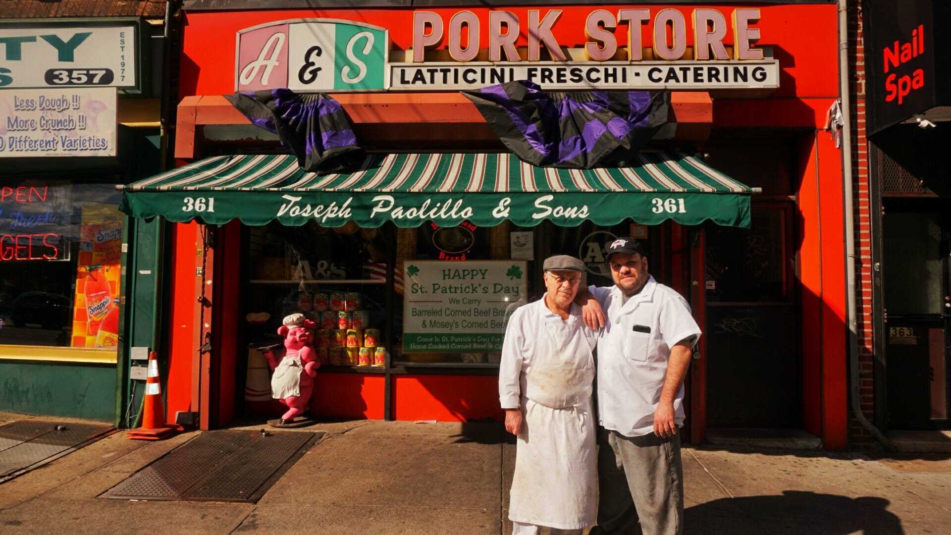 This Old School Italian Shop In Brooklyn Is Run By The Best Father And Son Duo Ciaooo
