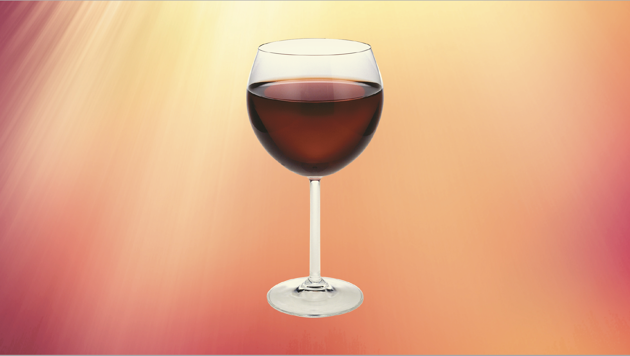 Here's a Testament to Drinking Red Wine this Summer