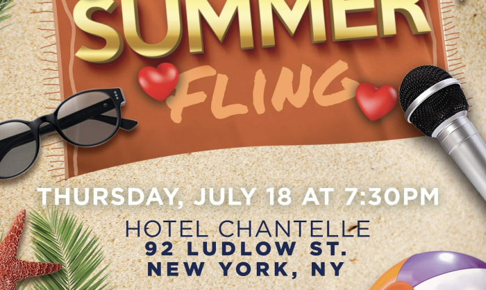 ciaooo! x The Surprise Show present The Summer Fling Comedy Show