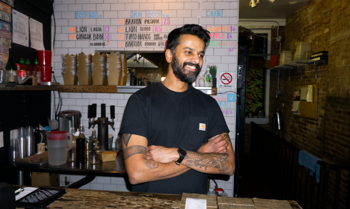 Chaz Gunamuni's Kottu House is Bringing Sri Lankan Bites to the Lower East Side