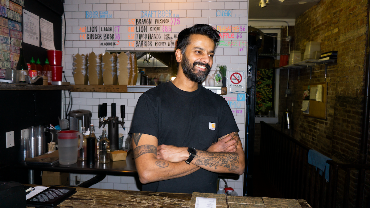 Chaz Gunamuni's Kottu House is Bringing Sri Lankan Bites to the Lower East Side