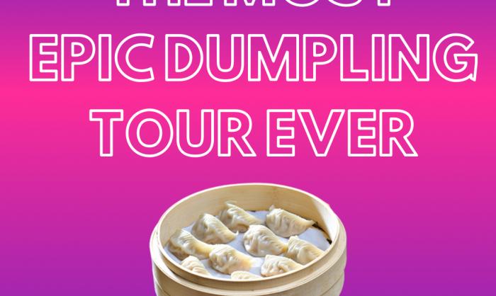 The Most Epic Dumpling Tour Ever