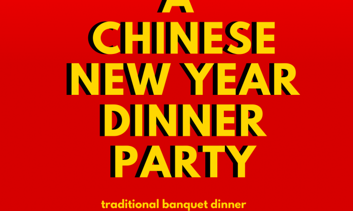 A Chinese New Year Dinner Party