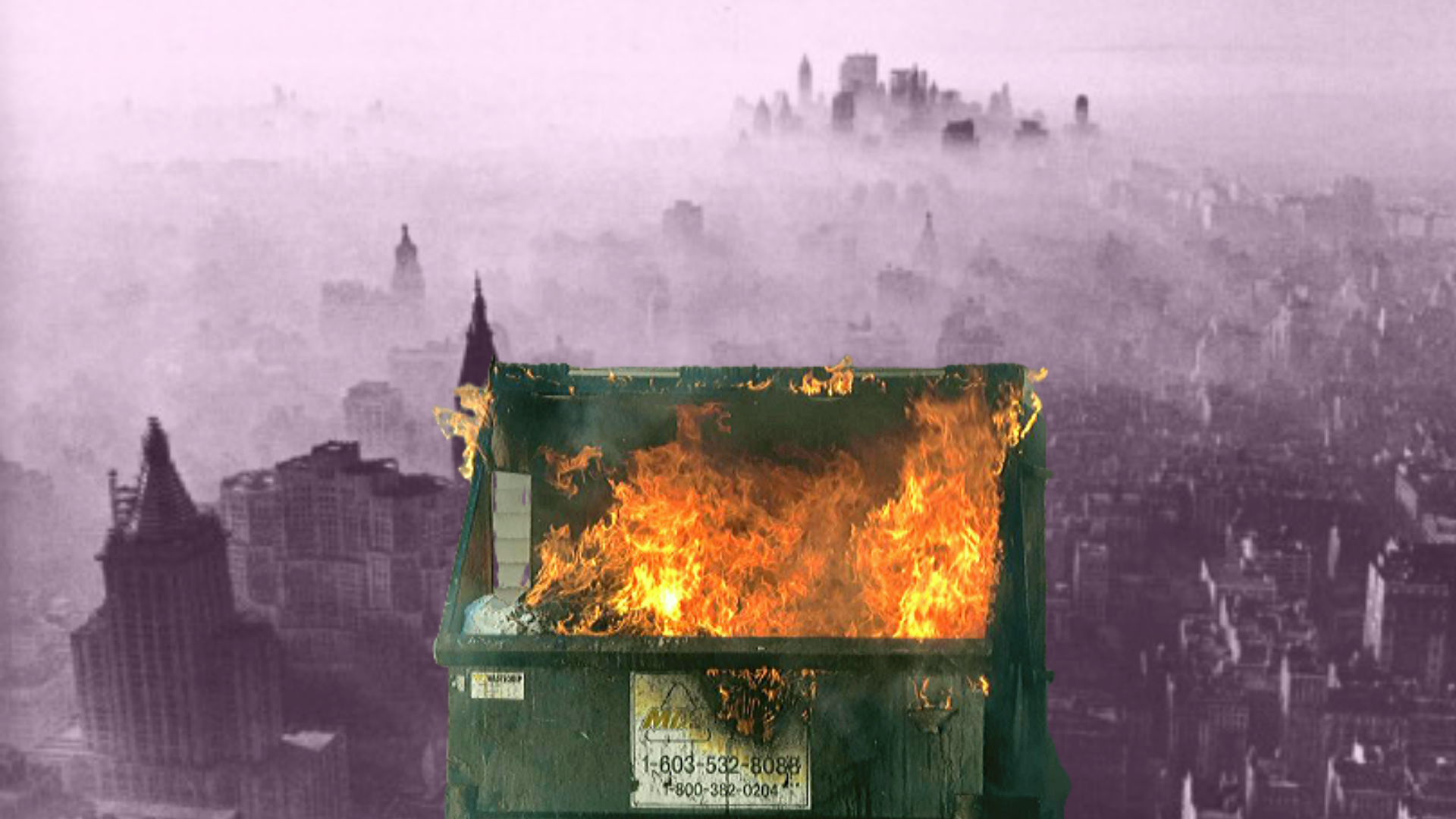 1960's NYC WAS A LITERAL DUMPSTER FIRE