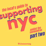 The Local's Guide to Supporting NYC Amidst the Coronavirus